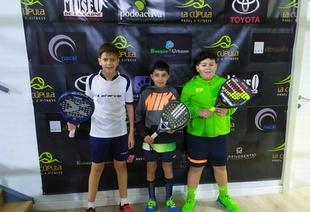 Los fontaneses realizaron una gran participación en el I Torneo Judex de pádel de la temporada