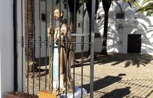 Este viernes tendrá lugar la bendición de animales por San Antón en Fuente del Maestre