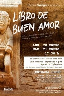 La asociación Matilde organiza la charla `En compañía del libro del buen amor´ en Los Santos de Maimona