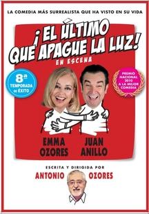 La comedia `El último que apague la luz´, de Antonio Ozores, llega a Zafra el sábado 25 de enero