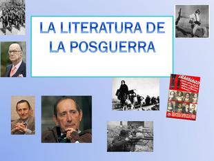 Este martes `Literatura Española de la postguerra´ en Cultura para Todos de Fuente del Maestre