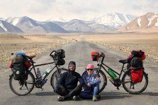 Los fontaneses Gema Ramos y Mario Polomo cuentan cómo les ha cambiado su viaje por el mundo en bicicleta