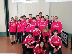 La Escuela Deportiva Fontanesa de Tenis de Mesa realizó un gran papel en el II torneo Judex de la temporada