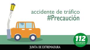Dos fallecidos y cinco heridos graves en la colisión entre dos vehículos cerca de Calzadilla de los Barros