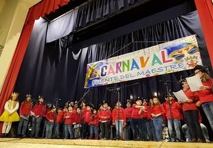 La Escuela de Música fontanesa pregonó el Carnaval con el Homenaje `La Música, una buena amiga´
