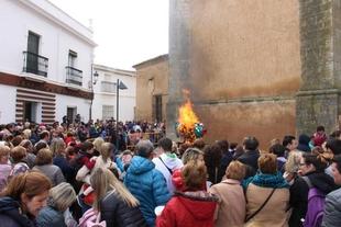 La quema de la sardina pondrá fin al Carnaval 2020 en Los Santos de Maimona