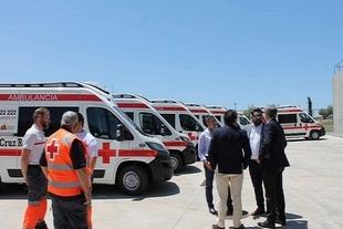 Cruz Roja de Zafra y Fuente del Maestre establecen rutas regionales