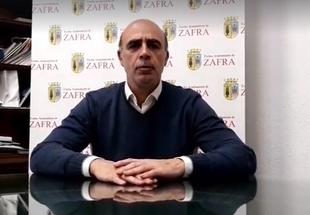 José Carlos Contreras, Alcalde de Zafra, confirma el primer caso de Coronavirus en la localidad