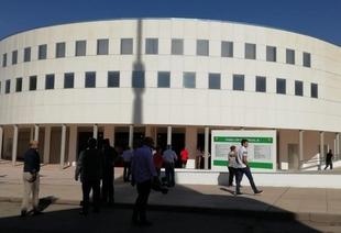Puestos a disposición del Gobierno Central y Autonómico los pabellones del Recinto Ferial de Zafra