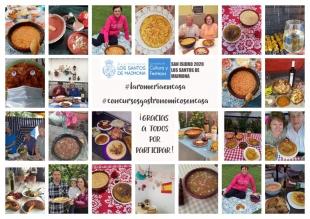 Ganadores del concurso gastronómico de San Isidro en Los Santos de Maimona