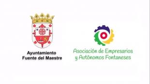 El Ayuntamiento de Fuente del Maestre y la Asociación de Empresarios y Autónomos fontaneses lanzan una campaña de apoyo al comercio local