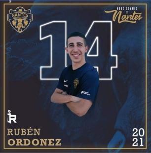 El burguillano Rubén Ordóñez ficha por el Nantes Metrópole Futsal de la primera división francesa