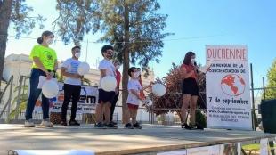 Burguillos del Cerro realizaba un acto por el Día Mundial por la concienciación Duchenne
