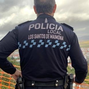La Policía Local de Los Santos de Maimona pide colaboración ciudadana y expone recomendaciones de cara al inicio del curso escolar
