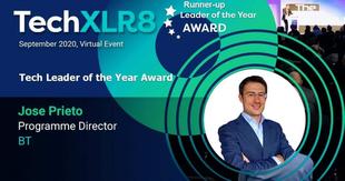 El fontanés José Luis Prieto ha sido nombrado `Líder Tecnológico 2020´ a nivel mundial