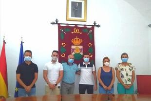 Dos nuevos policías locales toman posesión en Burguillos del Cerro