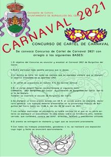 Burguillos del Cerro abre el concurso para el cartel anunciador del Carnaval 2021