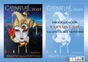 Valencia del Ventoso presenta una completa programación para el Carnaval 2021 adaptada a la situación actual