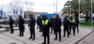 26 aspirantes a agentes de la Policía Local participan en Zafra un curso selectivo de ASPEX