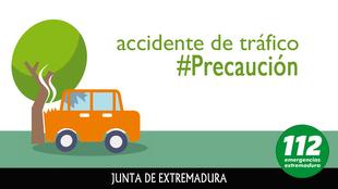 Fallece un joven de Los Santos de Maimona al salirse de la vía con su vehículo en Fuente del Maestre