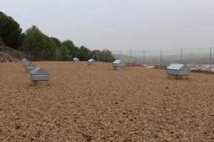 El nuevo depósito de agua de Los Santos de Maimona está en funcionamiento desde principios de enero