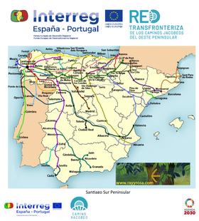 Constituida la Red Transfronteriza de los Caminos Jacobeos del Oeste Peninsular