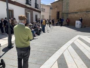 El Día del Libro es celebrado en Los Santos de Maimona con distintas actividades de fomento de la lectura