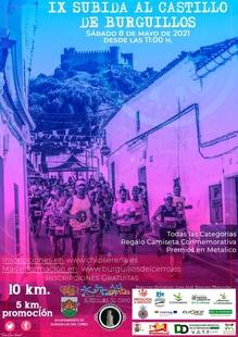 Este sábado se celebra la IX Subida al Castillo de Burguillos del Cerro