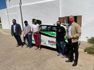 Presentada esta mañana en Zafra la escudería de motor Extremadura Rallye Team