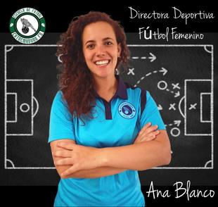 La fontanesa Ana Blanco Romero nueva Directora Deportiva de la Sección Femenina del Extremadura Fútbol Base de Almendralejo