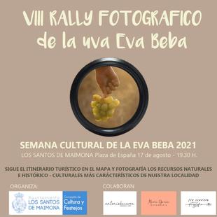 Convocada la octava edición del Rally Fotográfico de la Uva Eva Beba en Los Santos de Maimona