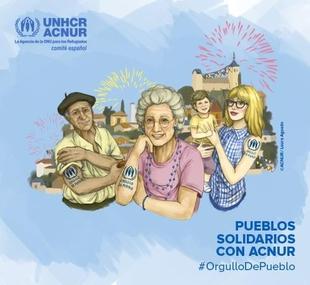 Medina de las Torres se suma a la Red de Pueblos Solidarios con ACNUR