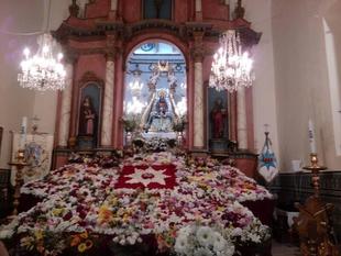 Los Santos de Maimona celebrará mañana 8 de septiembre el Día de su Patrona, la Virgen de la Estrella