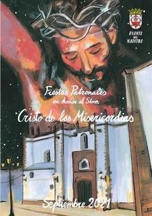Programa de Fiestas en Honor al Santísimo Cristo de las Misericordias en Fuente del Maestre