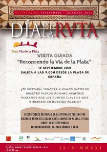 Los Santos de Maimona conmemorará el Día de la Ruta Vía de la Plata con una visita guiada, un desayuno romano y un pasapalabra