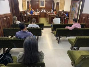 Vuelve la presencialidad en los plenos de Los Santos de Maimona