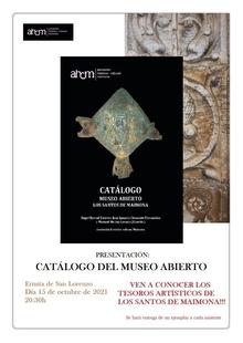 La AHCM recopila parte de la riqueza patrimonial de Los Santos de Maimona en el catálogo `Museo Abierto´