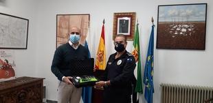 La Policía Local de Zafra incorpora nuevo equipo al adquirir un etilómetro evidencial portátil