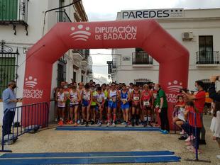Andreia Pingueiro y José Manuel Blanco ganadores absolutos de la XV Prueba Urbana `Ciudad de Fuente del Maestre´