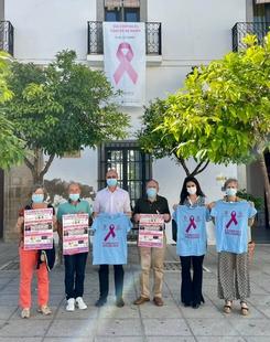 Presentada la VII Caminata Solidaria de Zafra a beneficio de la lucha contra el Cáncer de Mama