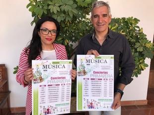 Los Conciertos de Primavera de los alumnos de la Escuela de Música serán del 21 de mayo al 19 de junio