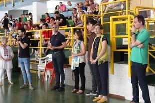 El alcalde de Zafra anuncia el proyecto de construcción de un nuevo polideportivo junto al IES Suárez de Figueroa