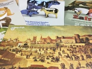 La concejala de Cultura de Zafra presenta las bases del Concurso de Cartel de la Feria Internacional Ganadera de 2020