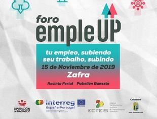 Zafra acoge el 15 de noviembre el Foro EmpleUp, que incluye ponencias, mesas de debate y talleres