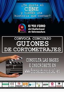 El VIII Foro del Audiovisual de Extremadura convoca un concurso de guiones de cortometrajes
