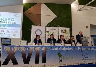 FADEX celebró en Fuente del Maestre el XVII Congreso de Personas con diabetes de Extremadura