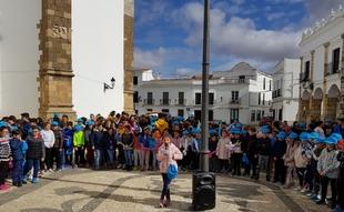 Los escolares fontaneses han participado en la III Caminata Infantil por la Diabetes