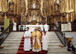 Emotiva celebración de las Bodas de Plata Sacerdotales de Francisco Javier Moreno en Fuente del Maestre