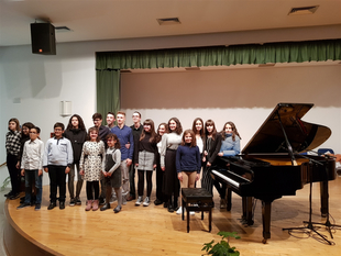 Magistral concierto de piano en Fuente del Maestre a cargo del Conservatorio Profesional `García Matos´