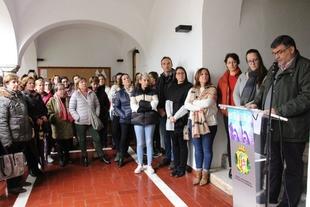 Los Santos de Maimona alza la voz contra la violencia de género